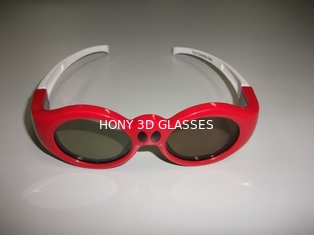 China Lovely Kids PC Active Passive 3d Glasses Infrared High Transmittance supplier
