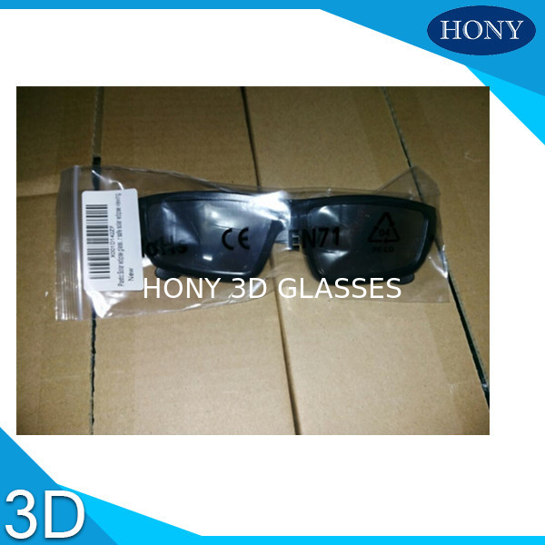 Custom Made PC Frame solar eclipse glasses PET Lens 0.4MM Thickness