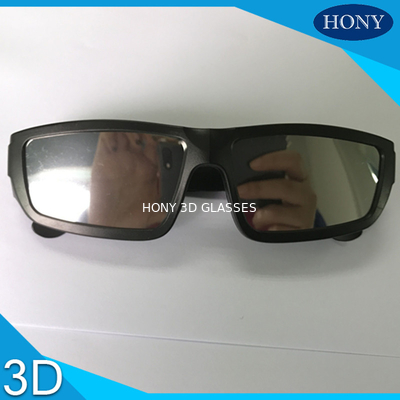 China Scratch Resistant Black Plastic Frame solar observing glasses Mirror Effect Solar Eclipse Film distributor