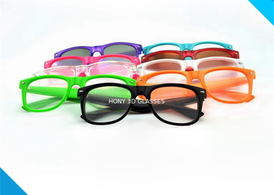 China Wayfarer Style Prism Rave Parties Diffraction Glasses , 3d Firework Glasses distributor