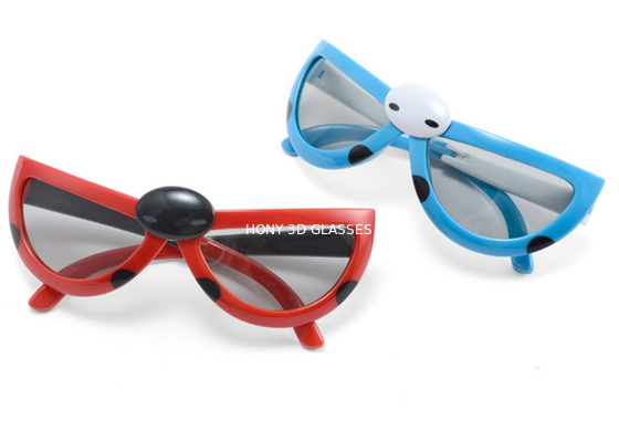 China Kids Passive Circular Polarized 3D Glasses For ALL Passive 3D TV RealD Theaters distributor