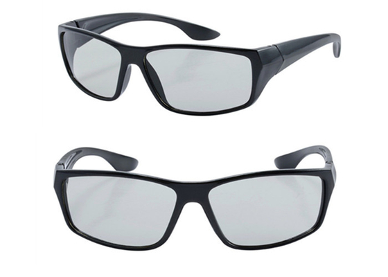 China Custom Printed Plastic 3D Polarized Glasses,Circular Polarization Glasses distributor