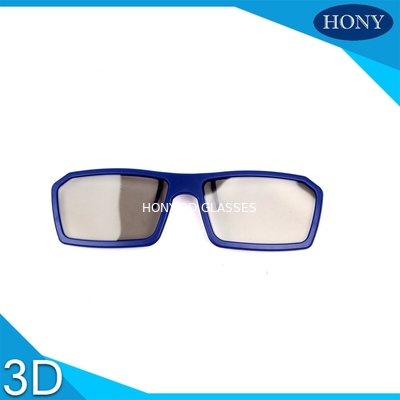China Clip On Disposable Passive 3D Glasses For Cinema One Time Use factory