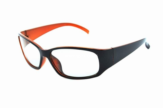 China Plastic Frame Linear Polarized 3D Glasses For Cinema Anti Scratch Lenses distributor