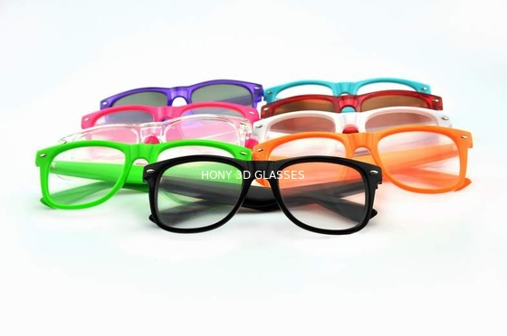 China Colorful Frame Plastic Diffraction Glasses For Fireworks From Hony distributor