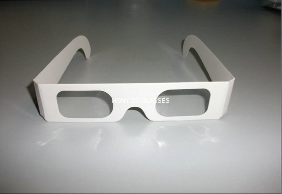 China Red Blue Chromadepth 3d Paper Glasses / Theater 3d Glasses For Adult And Kids factory