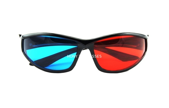 China Eco-Friendly ABS Plastic Red Cyan 3D Glasses Polarized Watching 3d Movie distributor