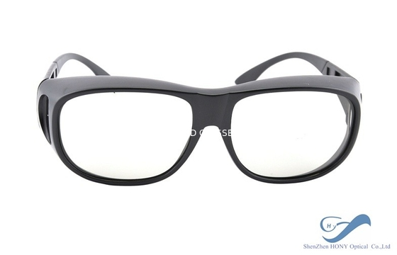 China Passive ABS Plastic Frame Reald 3D Polarized Glasses for Reald Cinema System distributor