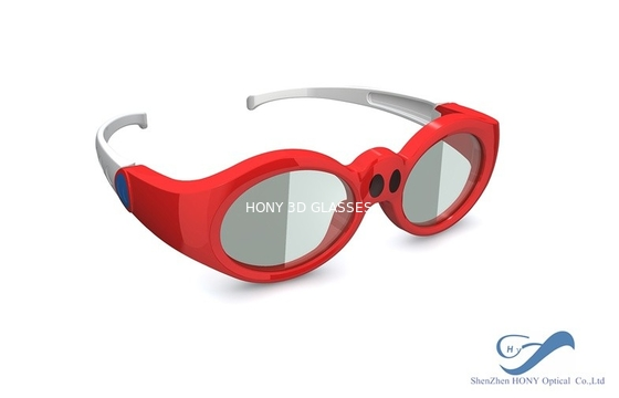 China Children DLP Link 3D Glasses Rechargeable For Xpand 3D Cinema System distributor