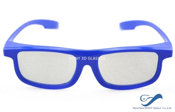 China Reald 3D Masterimage Cinema Active Shutter Glasses , Blue Plastic 3D Glasses factory