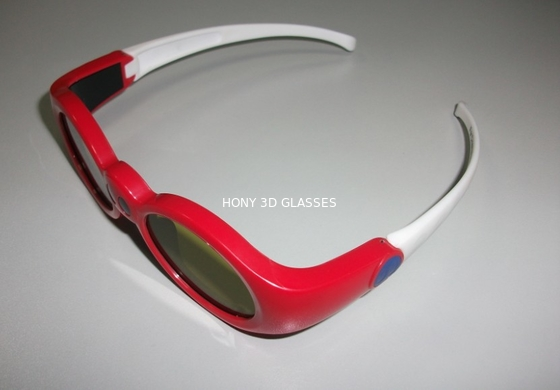 China Red Anaglyph Xpand 3D Shutter Glasses Eyewear For Children At Home distributor