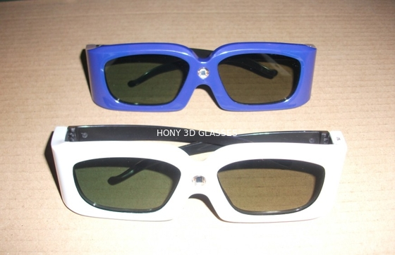 China Green Blue Stereoscopic Universal Active Shutter 3D Glasses Compatible Link distributor