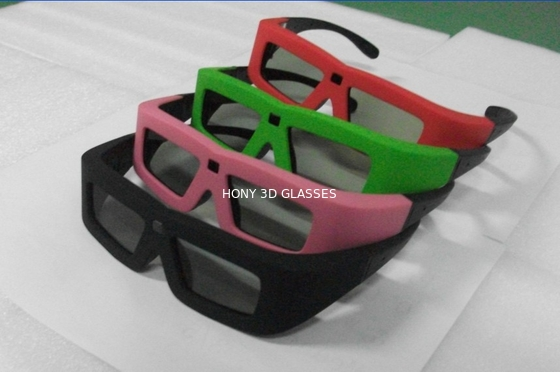 China Lithium Battery Powered DLP Link 3D Glasses Active Shutter High Transmittance distributor