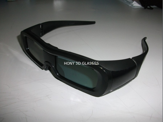 China PC Frame Universal Active Shutter 3D TV Glasses With IR Receiver OEM distributor