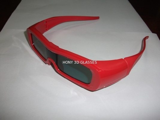 China ODM LG Universal 3D Active Shutter Glasses , IR 3D Glasses Rechargeable distributor