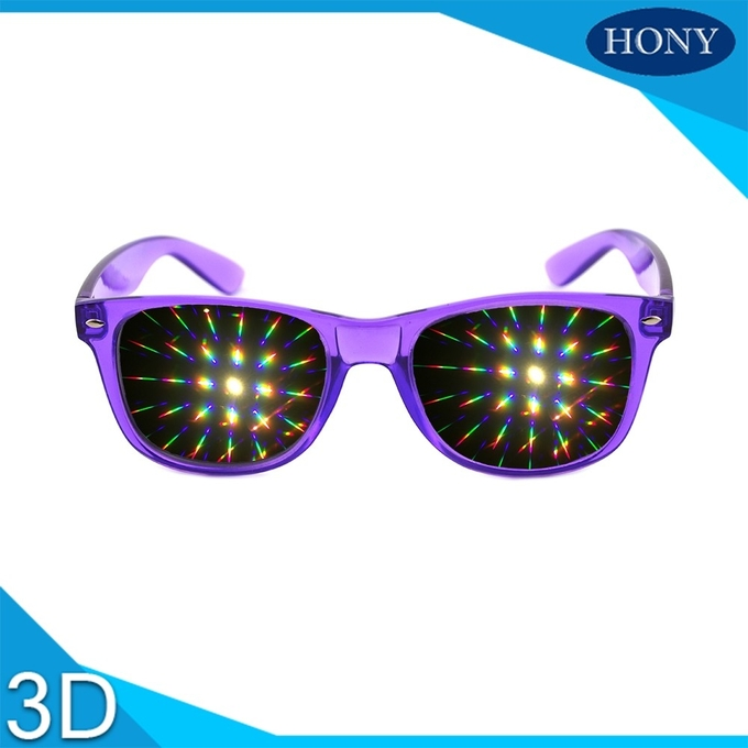 Wayfare Rainbown 3d fireworks glasses for advertising